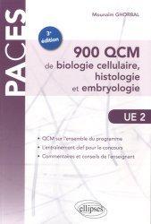 900 QCM de biologie cellulaire, histologie et embryologie UE2