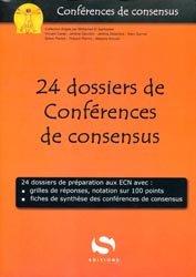 24 dossiers de conférences de consensus