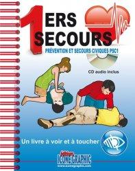 1ers secours PSC1 spécial  - Un livre à voir et à toucher