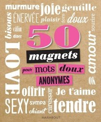 50 magnets pour mots doux anonymes