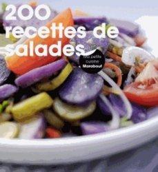 La couverture et les autres extraits de 200 recettes de salades