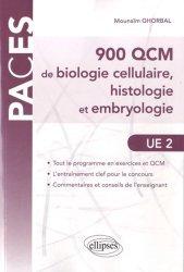 900 QCM de biologie cellulaire, histologie embryologie UE2