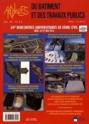 34e Rencontres Universaitaires de Génie Civil