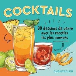30 dessous de verre à cocktails