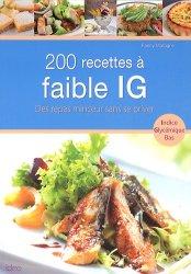 200 recettes à faible IG