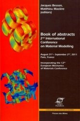 2nd International Conference on Material Modelling