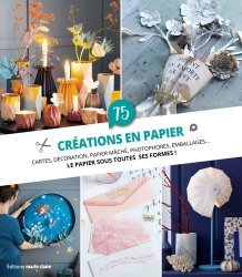 75 créations en papier