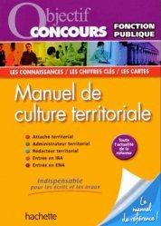 La couverture et les autres extraits de Manuel de culture territoriale