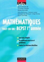 Mathématiques Tout en un BCPST 1ère année