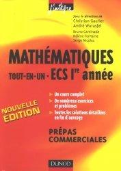 Mathématiques tout-en-un ECS 1e année