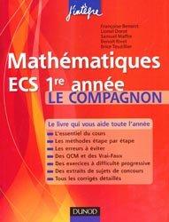 Mathématiques Cours compagnon ECS 1re année