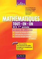 La couverture et les autres extraits de Mathématiques tout-en-un ECE 2ème année