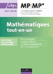 Mathématiques Tout-en-un MP - MP *
