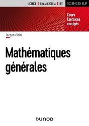 MATHEMATIQUES GENERALES Nouvelle édition