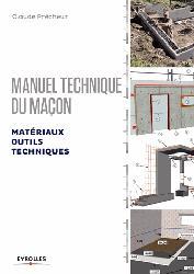 La couverture et les autres extraits de Manuel du maçon Volume 1