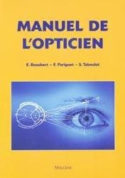 Manuel de l'opticien