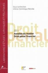 Master 2 Droit pénal financier. Edition 2012
