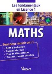 La couverture et les autres extraits de Mathématiques L1 + eText