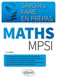 Maths MPSI
