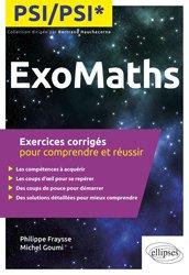 La couverture et les autres extraits de Mathématiques Méthodes et Exercices MPSI