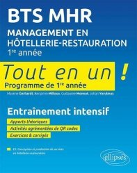 Management en Hôtellerie-Restauration BTS 1re année