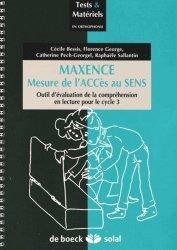 La couverture et les autres extraits de Mémento thérapeutique des NAC