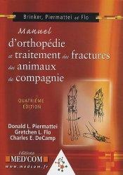 Manuel d'orthopédie et traitement des fractures des animaux de compagnie