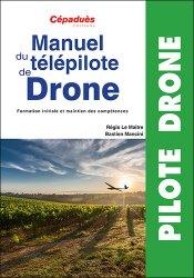 La couverture et les autres extraits de Manuel du télépilote de drone