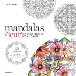 Mandalas fleuris de la couleur au calme