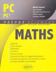 La couverture et les autres extraits de Maths MP - MP*