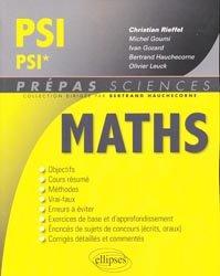Maths PSI PSI*