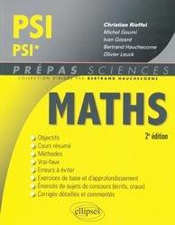 La couverture et les autres extraits de Maths ECS 2e année