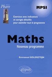 La couverture et les autres extraits de Maths PCSI Première période
