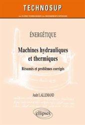 Machines hydrauliques et thermiques