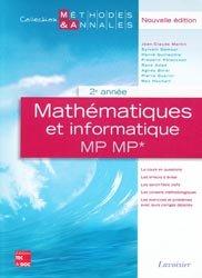 Mathématiques et informatique MP MP* 2ème année