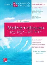Mathématiques PC PC* - PT PT* 2ème année