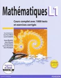La couverture et les autres extraits de Mathématiques L1