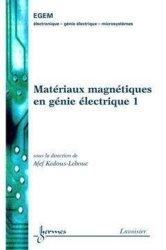 Matériaux magnétiques en génie électrique 1