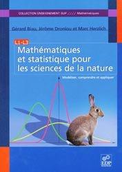 Mathématiques et statistique pour les sciences de la nature  L1 - L3