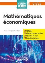 La couverture et les autres extraits de Mathématiques pour l'économie