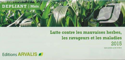 La couverture et les autres extraits de Maïs doux : lutte contre les mauvaises herbes, les ravageurs et les maladies 2017