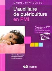 La couverture et les autres extraits de Manuel pratique de l'auxiliaire de puériculture en pédiatrie et en néonatalogie