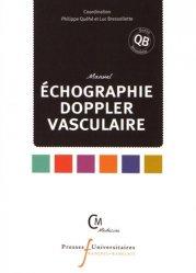 Manuel de échographie Doppler vasculaire