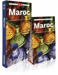 Maroc. Guide + Atlas + Carte routière 1/1 500 000, 3e édition, avec 1 Plan détachable