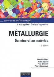 Métallurgie Du minerai au matériau