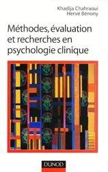Méthodes, évaluation et recherches en psychologie clinique