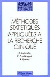 Méthodes statistiques appliquées à la recherche clinique