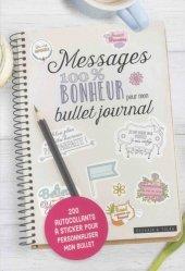 Messages 100% bonheur pour mon Bullet journal
