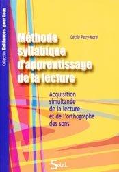 Méthode syllabique d'apprentissage de la lecture