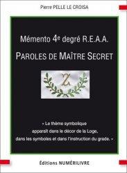 Mémento 4e degré R.E.A.A
